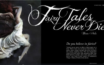 Inspades Magazine . Do You Believe in Faeries?