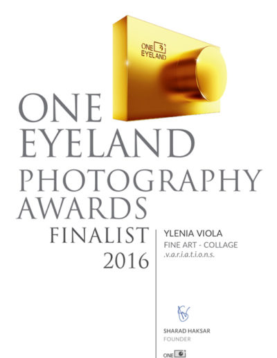 One EyeLand Photography Award Certificate