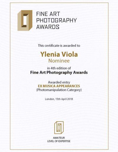 FAPA Certificate Series